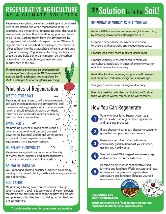Regenerative Agriculture Leaflet Image Preview