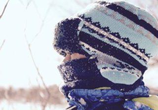 hat knit winter snow